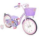 【送料無料】 アイデス 16型 幼児用自転車 ソフィア&スカイ 16(パープル×ピンク/シングルシフト)【組立商品につき…