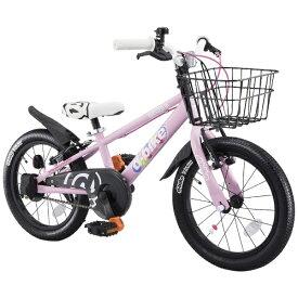 アイデス ides 18型 幼児用自転車 D-BIKE MASTER 18V バスケット付き(ベイビーピンク/シングルシフト)【4歳半以上向け】【組立商品につき返品不可】 【代金引換配送不可】