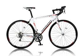 CANOVER カノーバー 700×23C型 ロードバイク CANOVER ZENOS(ホワイト/490サイズ《適応身長:165cm以上》) CAR-011【組立商品につき返品不可】 【代金引換配送不可】