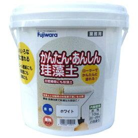 フジワラ化学 Fujiwara Chemical 簡単安心珪藻土 10kg ホワイト