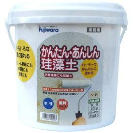 フジワラ化学 Fujiwara Chemical 簡単安心珪藻土 10kg ベージュ