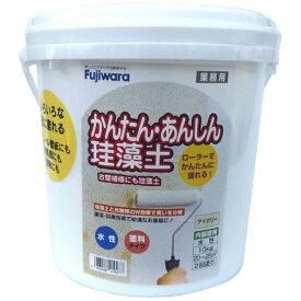 フジワラ化学 Fujiwara Chemical 簡単安心珪藻土 10kg アイボリー