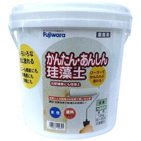 フジワラ化学 Fujiwara Chemical 簡単安心珪藻土 10kg 若葉