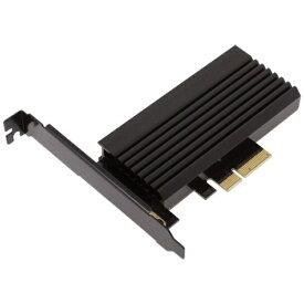 アイネックス ainex ヒートシンク搭載 M.2 SSD変換PCIeカード AIF-08
