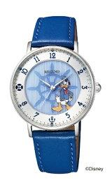 シチズン CITIZEN [ソーラー時計]レグノ(REGUNO)Disneyコレクション「ドナルドダック」モデル 「ソーラーテック」 KP3-112-10【数量限定 800本】【ユニセックス】