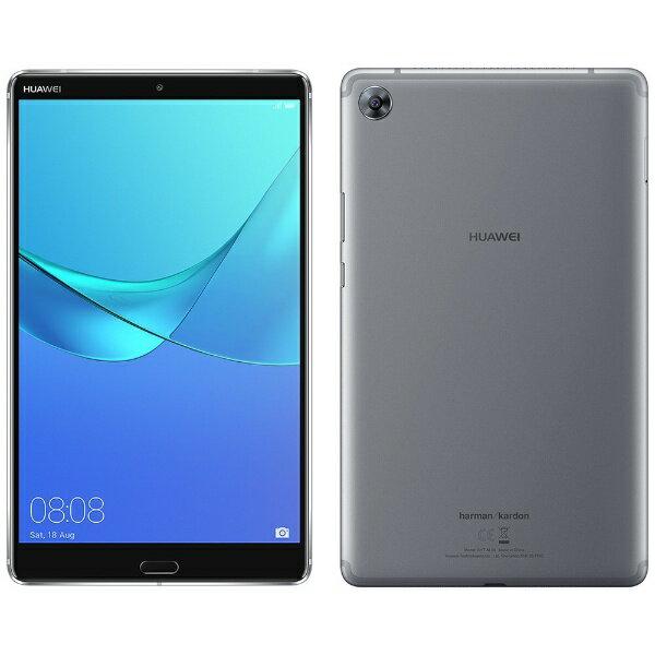 【送料無料】 HUAWEI ファーウェイ MediaPad M5 Android 8.0タブレット[8.4型・Kirin 960・ストレージ 32GB・メモリ 4GB]2018年5月モデル SHT-W09 グレー
