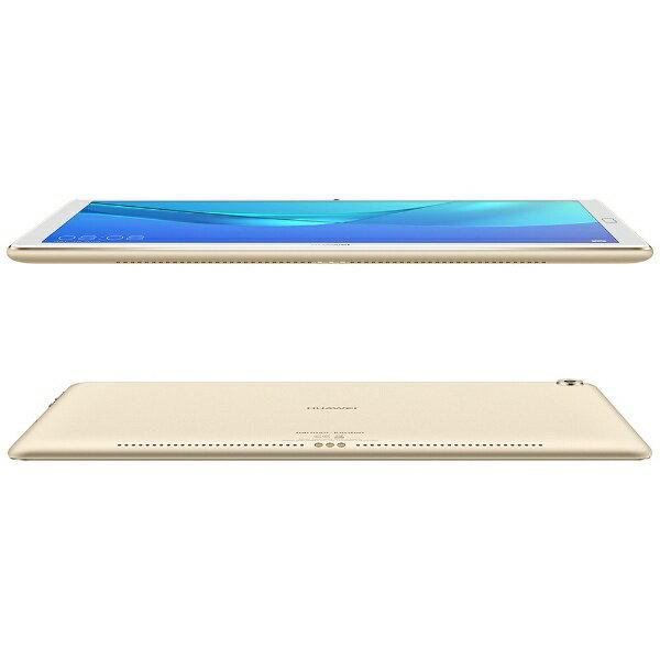 HUAWEI ファーウェイ CMR-W19 Androidタブレット MediaPad M5 Pro シャンパンゴールド [10.8型 /ストレージ:64GB /Wi-Fiモデル][M5PROCMRW19WIFI]