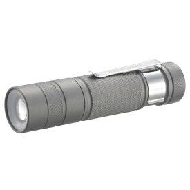 オーム電機 OHM ELECTRIC 懐中電灯 SPARKLED ZOOM LHA-SP312ZI-S [LED /単3乾電池×1 /防水]