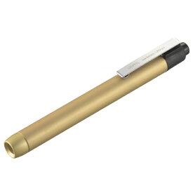 オーム電機 OHM ELECTRIC ペンライト ゴールド LH-PY1L-G [LED /単4乾電池×2 /防水]