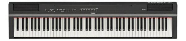 ヤマハ YAMAHA 【2000円OFFクーポン配布中 3/22 23:59まで】P-125B 電子ピアノ Pシリーズ ブラック [88鍵盤][P125B]