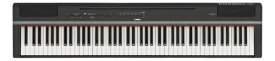 ヤマハ YAMAHA 電子ピアノ P-125B ブラック [88鍵盤][P125B]