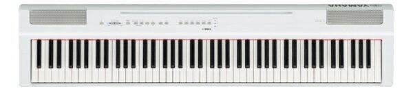 ヤマハ YAMAHA 【2000円OFFクーポン配布中 3/22 23:59まで】P-125WH 電子ピアノ Pシリーズ ホワイト [88鍵盤][P125WH]