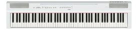 ヤマハ YAMAHA 電子ピアノ P-125WH ホワイト [88鍵盤][P125WH]