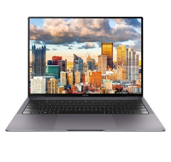 【送料無料】 HUAWEI 【4時間限定 1500円クーポン 6/25 20:00 〜 23:59】HUAWEI MateBook X Pro 13.9型タッチ対応ノートPC[Win10 Home・Core i7・SSD 512GB・メモリ 16GB]2018年6月モデル MAW29CH75CNCNAUA スペースグレー