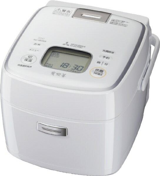 【送料無料】 三菱 Mitsubishi Electric NJ-SE069 炊飯器 備長炭 炭炊釜 ピュアホワイト [3.5合 /IH]