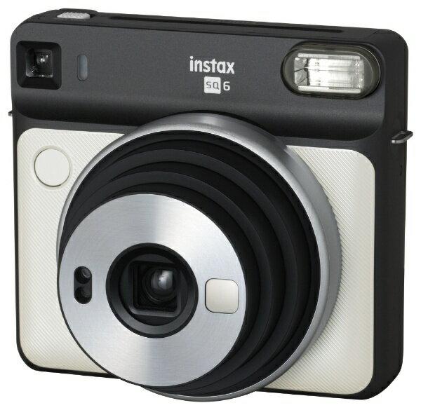 富士フイルム FUJIFILM インスタントカメラ 『チェキ』 instax SQUARE SQ6 パールホワイト[INSSQ6PEARLWHITE]
