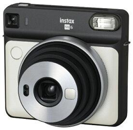 富士フイルム FUJIFILM インスタントカメラ 『チェキ』 instax SQUARE SQ6 パールホワイト[チェキ 本体 カメラ INSSQ6PEARLWHITE]