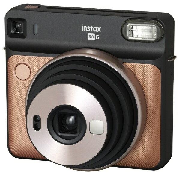 富士フイルム FUJIFILM インスタントカメラ 『チェキ』 instax SQUARE SQ6 ブラッシュゴールド[INSSQ6BLUSHGOLD]