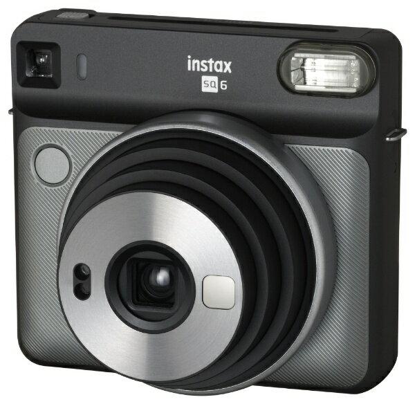 富士フイルム FUJIFILM インスタントカメラ 『チェキ』 instax SQUARE SQ6 グラファイトグレー[INSSQ6GRAPHIEGRAY]