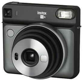 富士フイルム FUJIFILM インスタントカメラ 『チェキ』 instax SQUARE SQ6 グラファイトグレー[チェキ 本体 カメラ INSSQ6GRAPHIEGRAY]