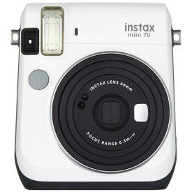 富士フイルム FUJIFILM インスタントカメラ 『チェキ』 instax mini 70N ホワイト[チェキ 本体 カメラ INSMINI70NWHITE]