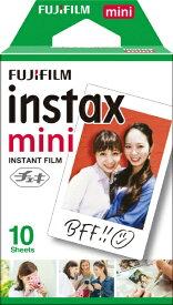 富士フイルム FUJIFILM チェキ インスタントフィルム カラー instax mini [10枚 /1パック][チェキ用フィルム]