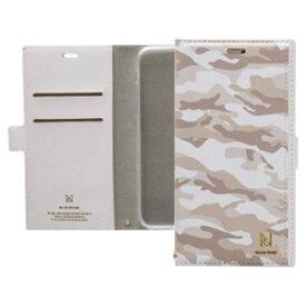 ナチュラルデザイン NATURAL design iPhone8/7/6s/6 (4.7) カラフルカモ手帳型ケース