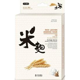 日本マスクパック 美友うるうるエッセンスマスク米麹6枚入り