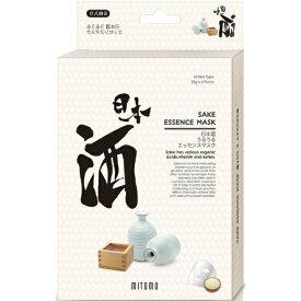 日本マスクパック 美友うるうるエッセンスマスク日本酒(6枚入)[シートマスク]