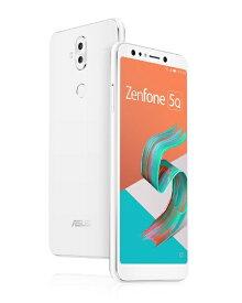 ASUS エイスース Zenfone 5Q Series ムーンライトホワイト ZC600KL-WH64S4 Snapdragon 630 6型ワイド メモリ/ストレージ: 4GB/64GB nanoSIM x2 DSDS対応 ドコモ/au/ソフトバンクSIM対応 SIMフリースマートフォン[ZC600KLWH64S4]