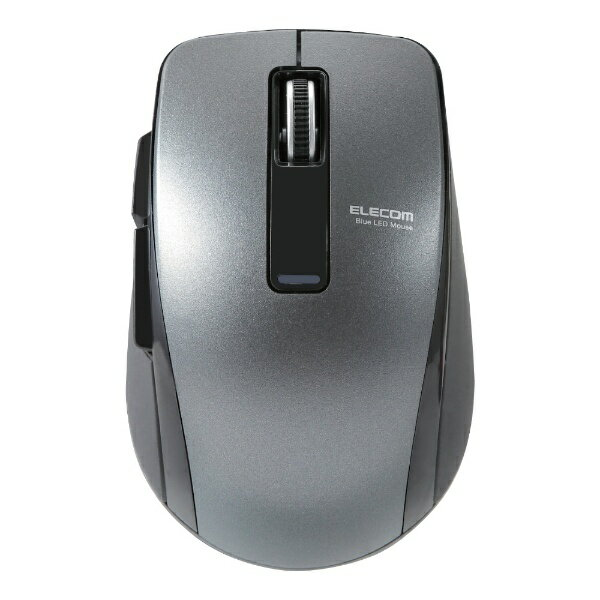 エレコム ELECOM BlueLEDマウス/Bluetooth4.0対応/Bluetooth/5ボタン/ブラック M-BT20BBBK[MBT20BBBK]