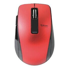 エレコム ELECOM M-BT20BBRD マウス レッド [BlueLED /5ボタン /Bluetooth /無線(ワイヤレス)][MBT20BBRD]
