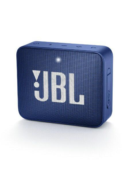 JBL ブルートゥーススピーカー JBLGO2BLU ブルー [Bluetooth対応]