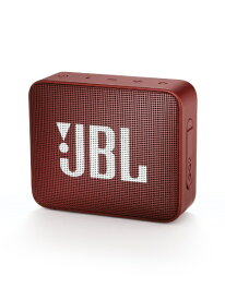 JBL ジェイビーエル JBLGO2RED ブルートゥース スピーカー レッド [Bluetooth対応 /防水][JBLGO2RED]