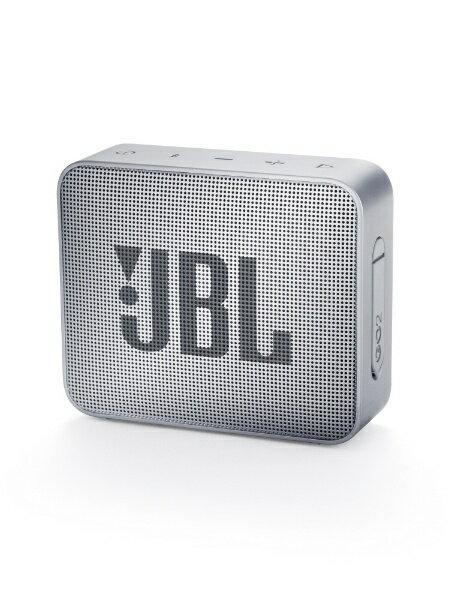 JBL ブルートゥーススピーカー JBLGO2GRY グレー [Bluetooth対応][JBLGO2GRY]