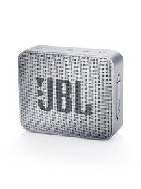 JBL ジェイビーエル ブルートゥース スピーカー JBLGO2GRY グレー [Bluetooth対応 /防水][スピーカー bluetooth 高音質 JBLGO2GRY]