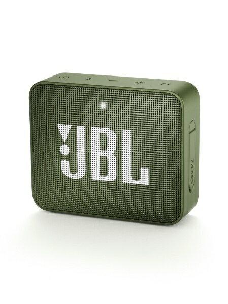 JBL ブルートゥーススピーカー JBLGO2GRN グリーン [Bluetooth対応]
