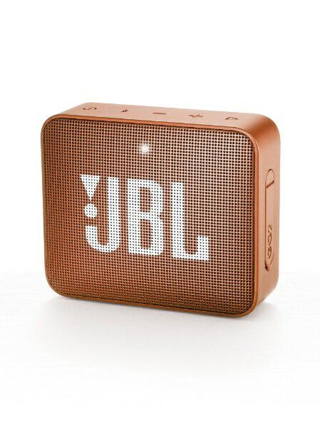 JBL ブルートゥーススピーカー JBLGO2ORG オレンジ [Bluetooth対応]