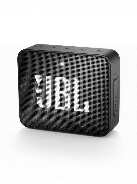 JBL ブルートゥーススピーカー JBLGO2BLK ブラック [Bluetooth対応][JBLGO2BLK]