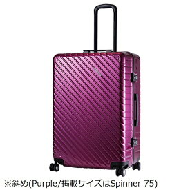 アメリカンツーリスター American Tourister TSAロック搭載スーツケース ROLLZ II スピナー55(34L)15Q91004 パープル 【メーカー直送・代金引換不可・時間指定・返品不可】