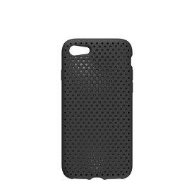 HAMEE ハミィ iPhone 8 / 7用 AndMesh メッシュiPhoneケース ブラック