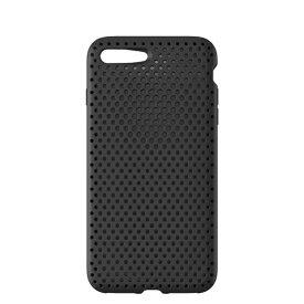 HAMEE ハミィ iPhone 8 Plus / 7 Plus用 AndMesh メッシュiPhoneケース ブラック