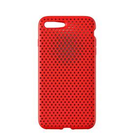 HAMEE ハミィ iPhone 8 Plus / 7 Plus用 AndMesh メッシュiPhoneケース レッド