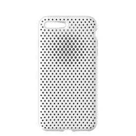 HAMEE ハミィ iPhone 8 Plus / 7 Plus用 AndMesh メッシュiPhoneケース ホワイト