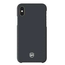 HAMEE ハミィ iPhone X用 AndMesh Basic iPhoneケース チャコールグレー