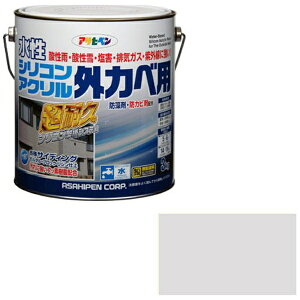 水性シリコンアクリル外かべ用 3kg