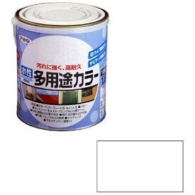 アサヒペン 水性多用途カラー 1.6L (ツヤ消し白)