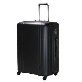 シフレ siffler 軽量スーツケース ハードジッパー ZER2088-66 マットブラック [約105L] 【メーカー直送・代金引換不可・時間指定・返品不可】