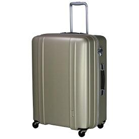 シフレ siffler 軽量スーツケース ハードジッパー ZER2088-66 マットゴールド [約105L] 【メーカー直送・代金引換不可・時間指定・返品不可】