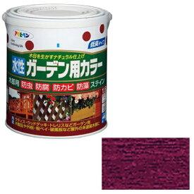 アサヒペン 水性ガーデン用カラー 1.6L (ワインレッド)